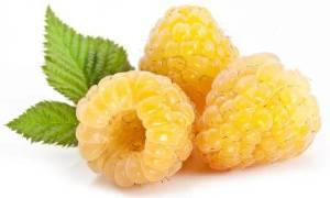 Желтая малина