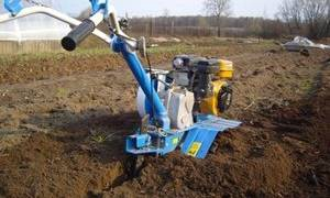 Как правильно копать землю мотоблоком видео