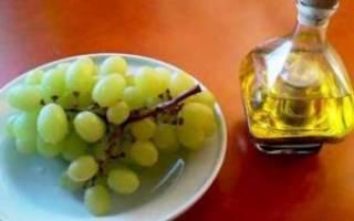 Виноградный уксус польза и вред для организма как принимать